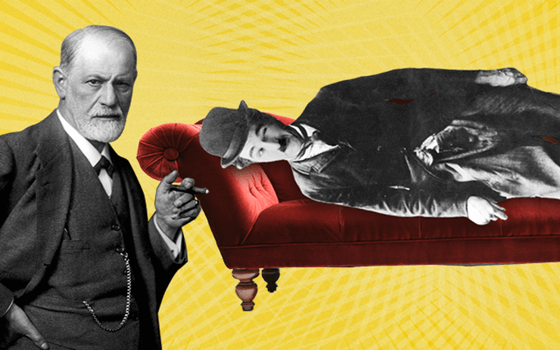 Freud and Charlie Chaplin