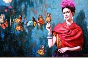 Frida Kahlo suffering