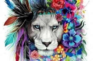 managing anger lion