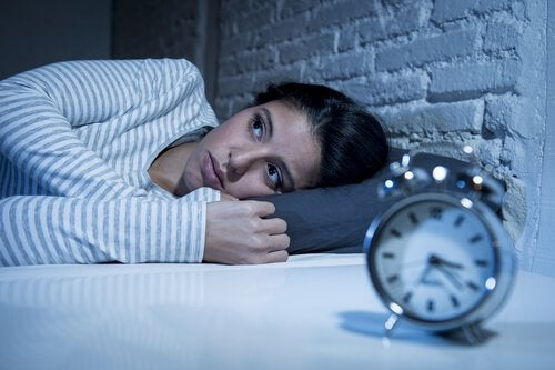 melatonin promotes sleep woman