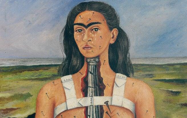 Frida Kahlo broken column