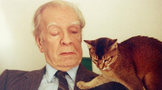 phrases from jorge luis borges cat