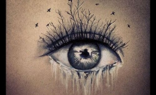 where there are tears eye
