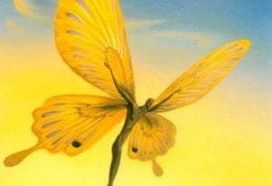 facing adversity butterfly