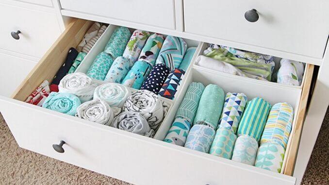 keeping everything in order drawer