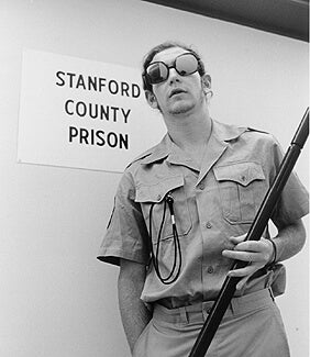 a guard in the Stanford prison experiment
