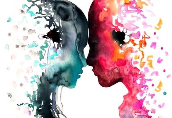 head to head in argument or love