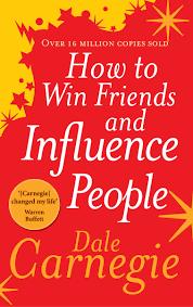 Dale Carnegie book.