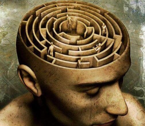 A labyrinth can be found inside the mind.