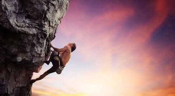 fjellklatrer søker adrenalin
