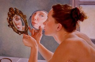 woman thinking about narcissism and self-esteem