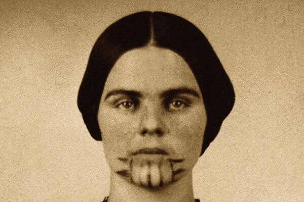 Olive Oatman and her unique tattoo