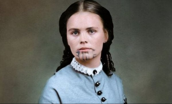 Olive Oatman, the Twice-Captured Woman with the Blue Tattoo