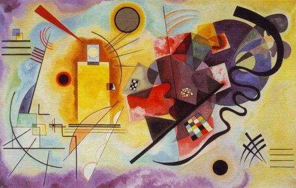 a Kandinsky painting