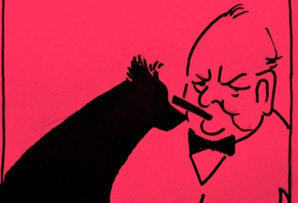 Winston Churchill and his black dog of depression