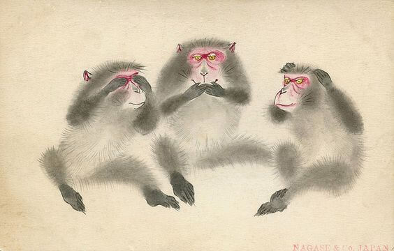 The Lesson of the Three Wise Monkeys at the Toshogu Sanctuary