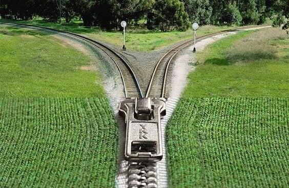 a zipper train: making a big decision