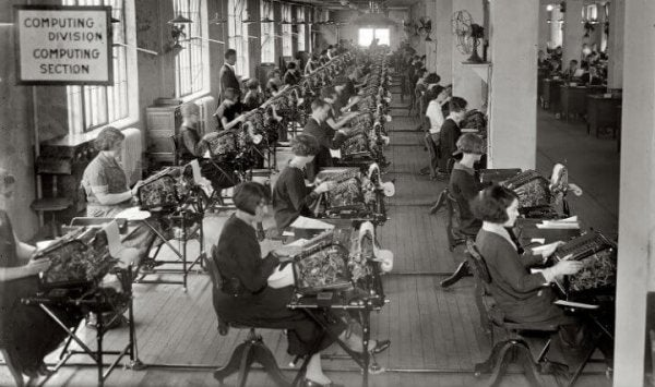 Workers in the Hawthorne effect.