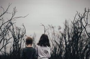 Two depressed children