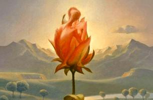 Flower in emotional space