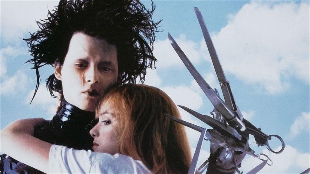 edward scissorhands halloween movie