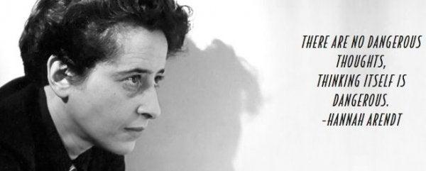 Hannah Arendts teori