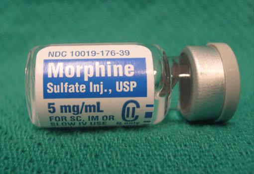 Morphine.