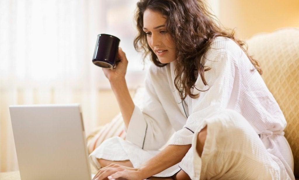 Terapi online ger dig flexibilitet