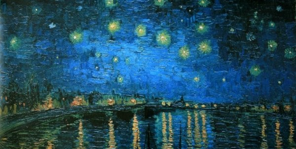 Van Gogh and Starry Night.