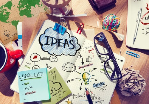 Ideas and check lists.