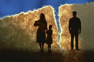 Divorce in a family