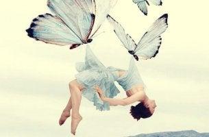 butterflies healing