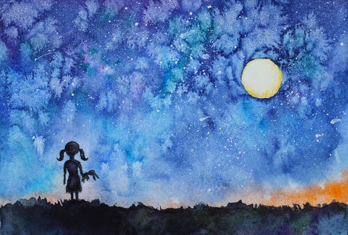 The Girl Who Looked to the Night Sky and Discovered Her Inner Light