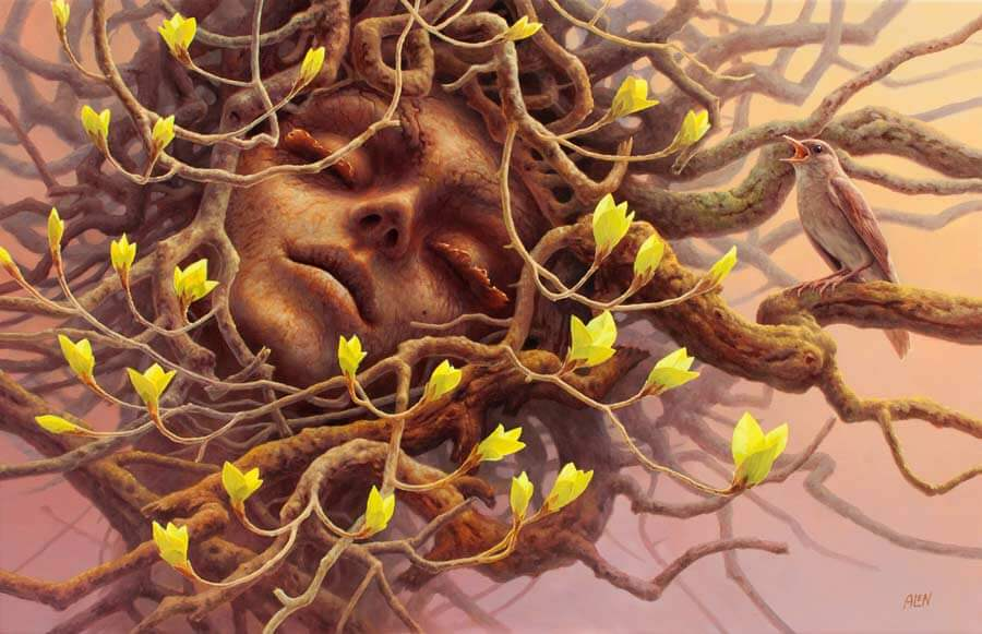 A tree person.