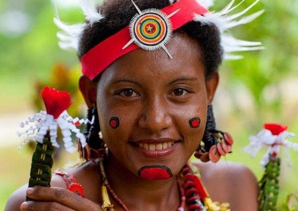 indigenous woman