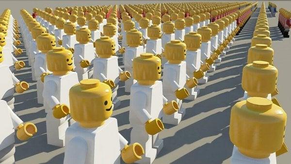 Social Psychology, lego figures