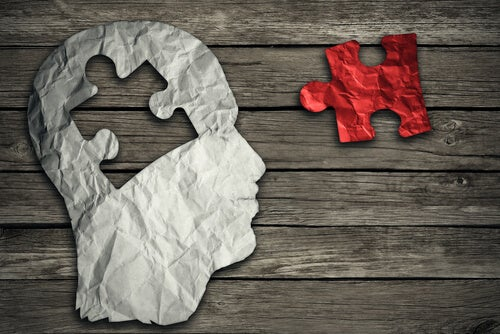 A puzzle piece and a brain: go to therapy.