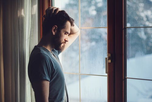 Man thinking about moving home