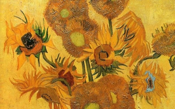 Van Gogh and Sunflowers