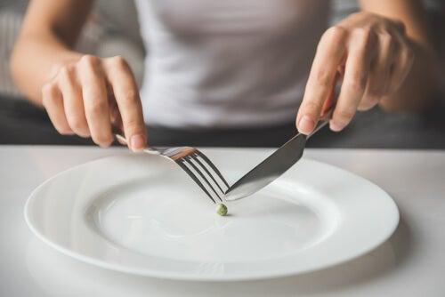 Eating one pea: eating disorders.