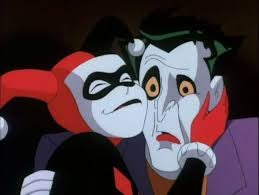The Joker and Harley Quinn.