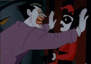 The Joker and Harley Quinn.