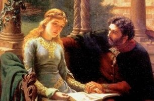Peter Abelard and Heloise.