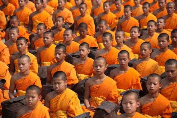 Social identity of Buddhist children
