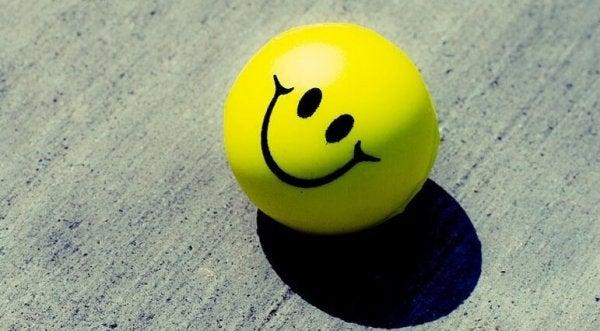 Happy ball face