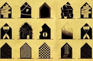 What some mental disorders would look like as houses.