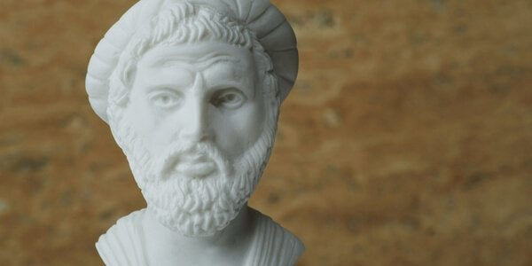 Pythagoras and philosophical theories.