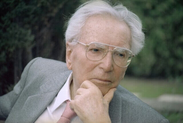 Viktor Frankl and logotherapy.
