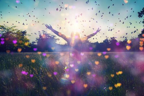 When I give myself a chance: freedom.