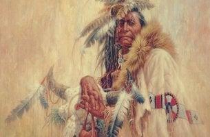 A native american chief.